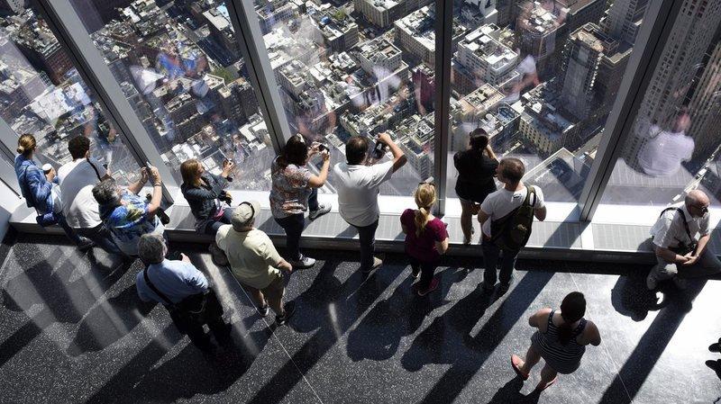 Inauguration de l'observatoire du World Trade Center à New York