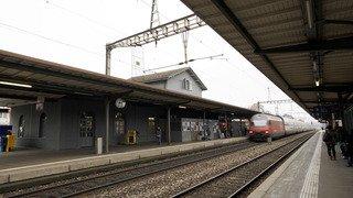 CFF: trafic perturbé vendredi matin sur l'axe Lausanne-Genève