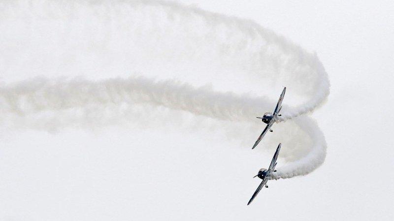 Des avions mythiques réunis à l'aérodrome de Prangins pour le 5e Fly-In
